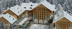 Chedi hotel and Residences Andermatt