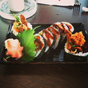 See Sushi - Spider Rolls