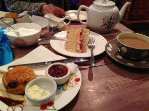 Afternoon Tea at The Mad Hatter's Tearoom