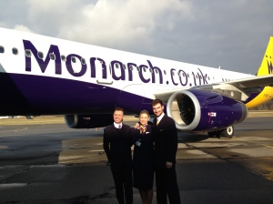 Monarch airlines at Friedrichshafen airport
