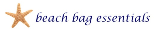 beach bag essentials title