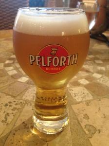 La Biere in Biot's Cafe de la Poste