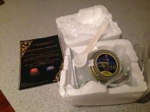 Caviar Classic London .. package perfection